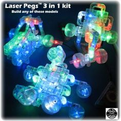 LASER PEGS?? Umm... That sounds so cool!