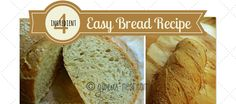 If I can make this 4 ingredient Easy Bread, anyone can! This simple recipe will make you into an artisan baker, and you'll be enjoying piping hot homemade bread fresh from your oven as often as you've got a batch of dough ready. Super Easy Bread Recipe, Easy Bread Recipes, Thm Recipes, Cooking Recipes, Mama Recipe, Recipe 4, Sourdough Recipes, Sourdough Bread, Trim Healthy Momma