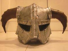 Skyrim: Dragonborn helmet (album in the comments) via Reddit user  panerai91