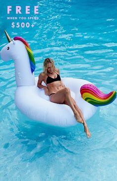 #Floaty Inflatable Unicorn
