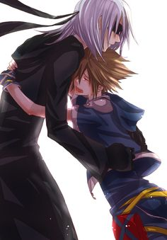 Sora & Riku - oh my heart...T-T
