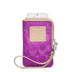 COACH                                                                                                                                                   Legacy Weekend Universal Phone Case                                                                                                          .:JuSt*!N*cAsE:.