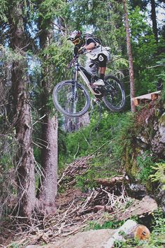 Sick drops! - mountain biking