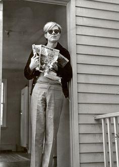Fred W. McDarrah - Andy Warhol. 1966.