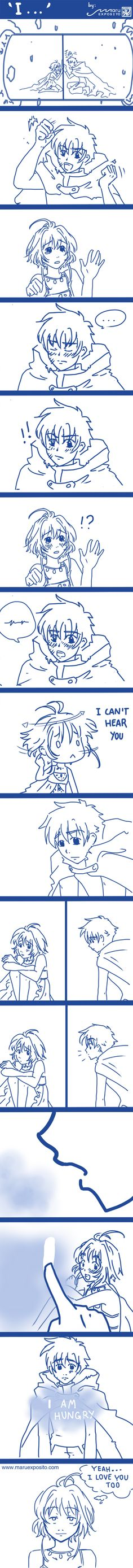 I... -TRC Comic by YuukinoTsuna.deviantart.com on @deviantART sakura syaoran comic shaoran xiaolang tsubasa reservoir chronicle fanart doujinshi CLAMP #maruexposito #yuukinotsuna