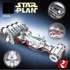 Star War Series The Tantive IV Rebel Blockade Runner Building Blcoks Toy 05046