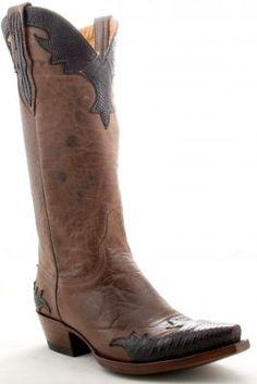 Womens Old Gringo Villa Boots Dust And Maroon #L060-65 at allensboots.com