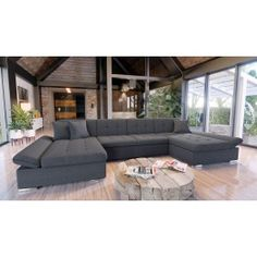 Living landscapes with bed function – Furniture Couch Outdoor Furniture Covers, Diy Furniture Couch, Sectional Sleeper Sofa, Corner Sectional, Sofa Bed, Living Area, Living Spaces, Living Room, Outdoor Stools