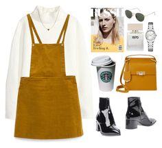 """Untitled #83"" by tamara-xox ❤ liked on Polyvore featuring H&M, Zara, Jules Smith, Balenciaga, ANNA, Miu Miu, Topshop, Bella Freud, Calvin Klein and casual"