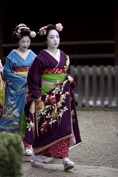 Sayaka and Sakiko