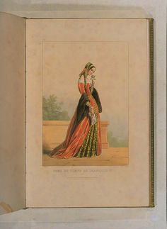 Costumes historiques de ville ou de théâtre et travestissemens - Historical Costumes of Town or Theater and Fancy Dress - Achille Devéria - Page 67