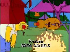 Homer at the Renaissance fair.