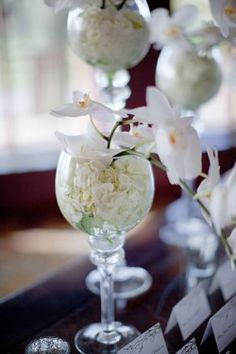 white orchid wedding decor  white orchid wedding decor: day orchid decor
