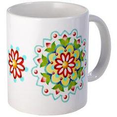 Kristofer's Mandala Mug by Patricia Shea Designs on #CafePress