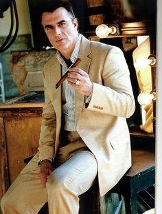 I aim to be like Mr Big. Cigar included.