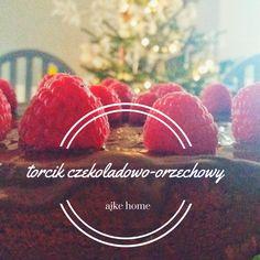 tort czekoladowy orzechowy prosty przepis Watermelon, Sugar, Baking, Fruit, Bread Making, Patisserie, Bread, Bakken, Backen