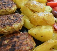 Food N, Food And Drink, Cookbook Recipes, Cooking Recipes, Potato Rolls Recipe, Greek Recipes, Side Dishes, Potatoes, Cooking