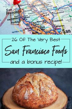 Ask a San Franciscan for the best restaurant and you will get such a long list you may want to move to the city. Here are some of the best San Francisco foods and drinks, a recipe for making your own San Francisco classic, sourdough bread. San Francisco Vacation, San Francisco Travel, San Francisco Food, Sourdough Bread, California Travel, Yummy Treats, The Best, Travel Inspiration, Traveling By Yourself