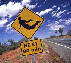 Warning Australië