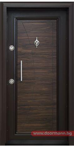 Блиндирана входна врата - Код T369, Цвят Африка