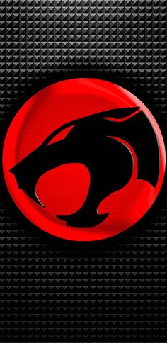 Thundercats 80*s Cartoon Black Red Belt Buckle