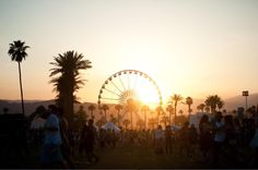 Seriously though... Let the fun begin today! Coachella