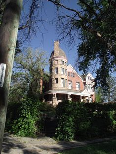 Built in the 1890's a towering Romanesque mansion is still occupied by the same family. Located in Pueblo Colorado