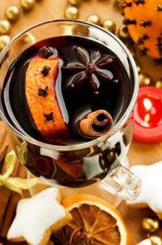 """""""Mulled wine in the cold winter days. Chocolate Fondue, Hot Chocolate, Mulled Wine, Merry Christmas And Happy New Year, Mixed Drinks, Christmas Treats, Superfoods, Food Inspiration, Food And Drink"""