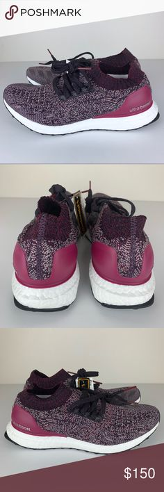 0e384f4fd7fc8 Adidas Women s Ultra Boost Uncaged Primeknit Ruby ADIDAS WOMEN S ULTRA  BOOST UNCAGED Mystery Ruby