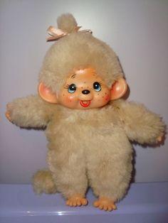 MONCICCI BAMBOLA KIKI monkey stile japan doll poupee monchichi pupazzo mon ciccì