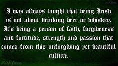 Quote on Irish culture. Celebrate Irish culture with Irish jewelry at… Irish American, American History, Native American, American Symbols, American Women, American Indians, American Art, Irish Quotes, Irish Sayings