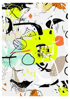 – Abstract Snoopy, Fine Art, Fictional Characters, Abstract, Fantasy Characters, Visual Arts