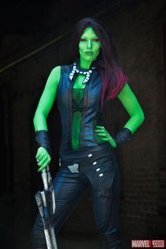 Costoberfest 2015: Contagious Cosplay as Gamora