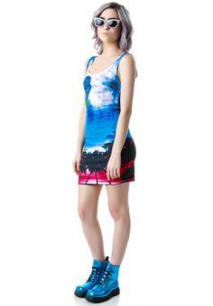 Reverse LA Sunrise Sunset Tank Dress