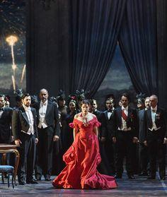 La traviata opera costumes by Valentino for Teatro dell Opera in Rome