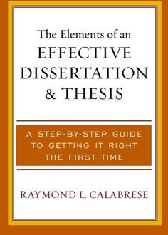 Write a phd thesis in record time