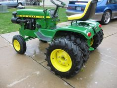 755 With John Deere Garden Tractor Styling John Deere Equipment Pinterest Gardens John