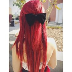 24 Inch Full Head Remy Clip in Human Hair Extensions Plum/Cherry Red... ❤ liked on Polyvore featuring beauty products, haircare, hair styling tools and hair