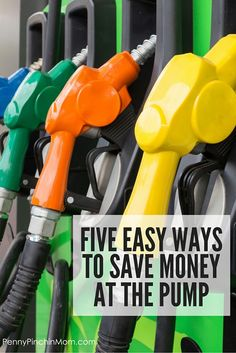Easy Tips for Saving Money at the Pump You can actually SAVE MONEY on fuel! Get these tips to help y