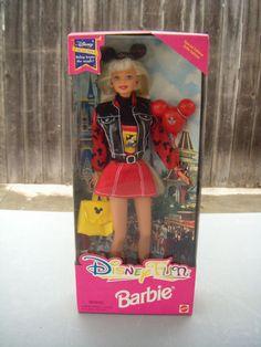 Disney Fun Barbie Disney Exclusive Edition for sale online Barbie 80s, Barbie Cartoon, Barbie Dolls For Sale, Barbie Dream, Vintage Barbie Dolls, Barbie And Ken, Ever After High, Barbie Celebrity, Monster High