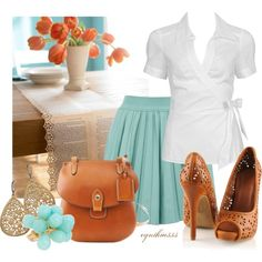 Pretty Summer Outfit, created by cynthia335 on Polyvore