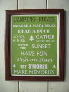 I see a new wallhanging for our camper in our future.