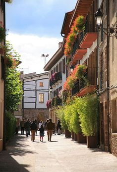 Ezcaray (La Rioja) Cool Places To Visit, Places To Go, Wonderful Places, Beautiful Places, Spain Travel, The Good Place, Around The Worlds, Street View, Adventure
