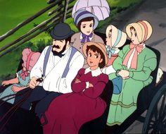 Eine fröhliche Familie (Ai no wakakusa monogatari).