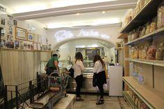 Roma - Makarna - Pastificio / Rome - Pasta - Pastificio (http://www.neredeyesek.net/2014/01/17/gunluk-hazirlanan-taptaze-makarnalar-pastificio-roma-italya-ne-yenir/)