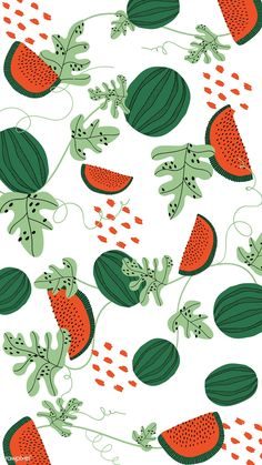 watermelon sugar-harry styles tastes like strawberries on a summer evening Watermelon Background, Watermelon Wallpaper, Pattern Wallpaper, Wallpaper Backgrounds, Iphone Wallpaper, Summer Backgrounds, Background Vintage, Background Patterns, Watermelon Illustration