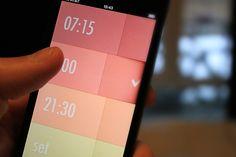 Graphically Designed Clocks. Minimal. Warm. UltraLinx