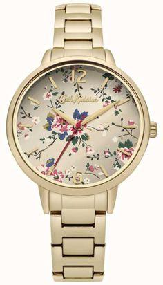 The Gold Bracelet Floral Print Dial is a superb db0dc912f24