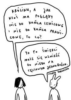 by Marta Zabłocka zycie-na-kreske.blogspot.com Math Equations, Comics, Cartoons, Comic, Comics And Cartoons, Comic Books, Comic Book, Graphic Novels, Comic Art