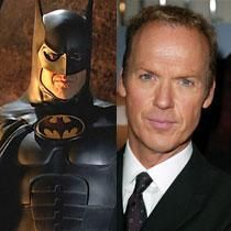 Michael Keaton as Batman...maybe it's only me...but he was THE only Batman in my eyes!! Love him!